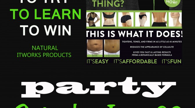 How to host succesful itworks party